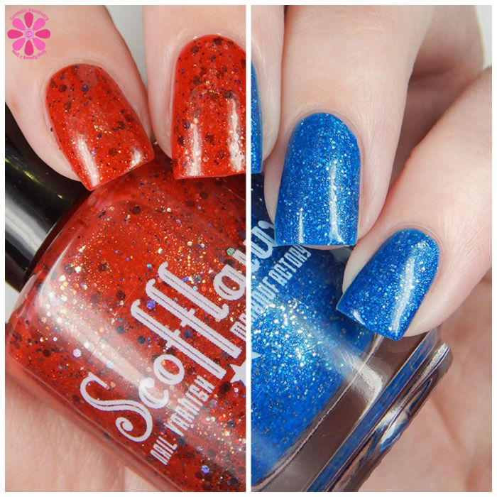 Scofflaw Polish Limited Edition Duo Up Split Image