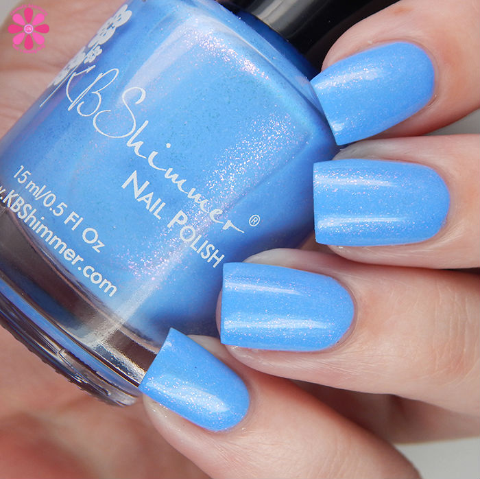 KBShimmer Summer 2016 Collection Suit The Breeze Swatch