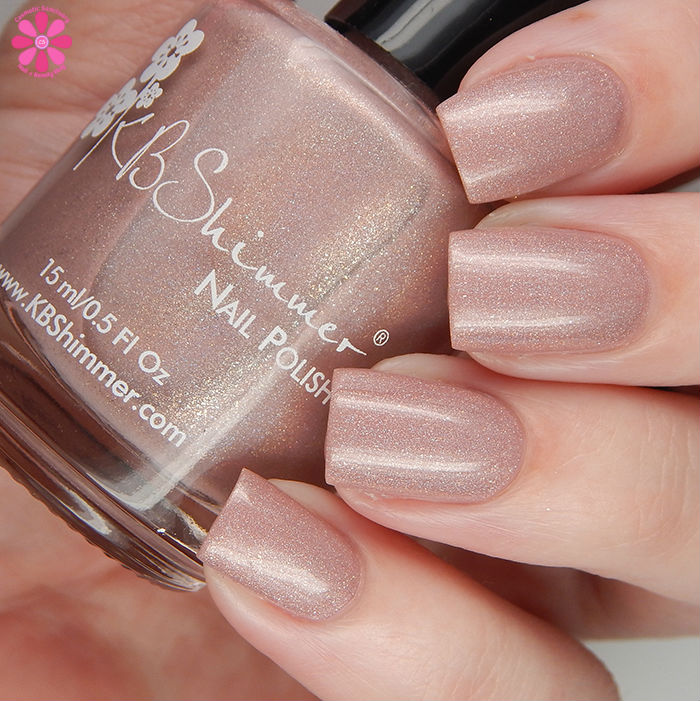 KBShimmer Summer 2016 Collection That's Nude To Me Swatch