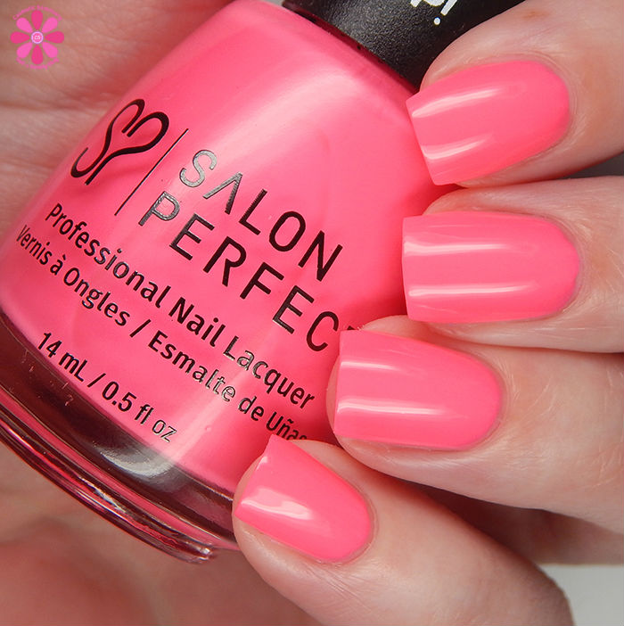 Salon Perfect Summer 2016 Neon POP! Collection Wrapped Around My Pink-y