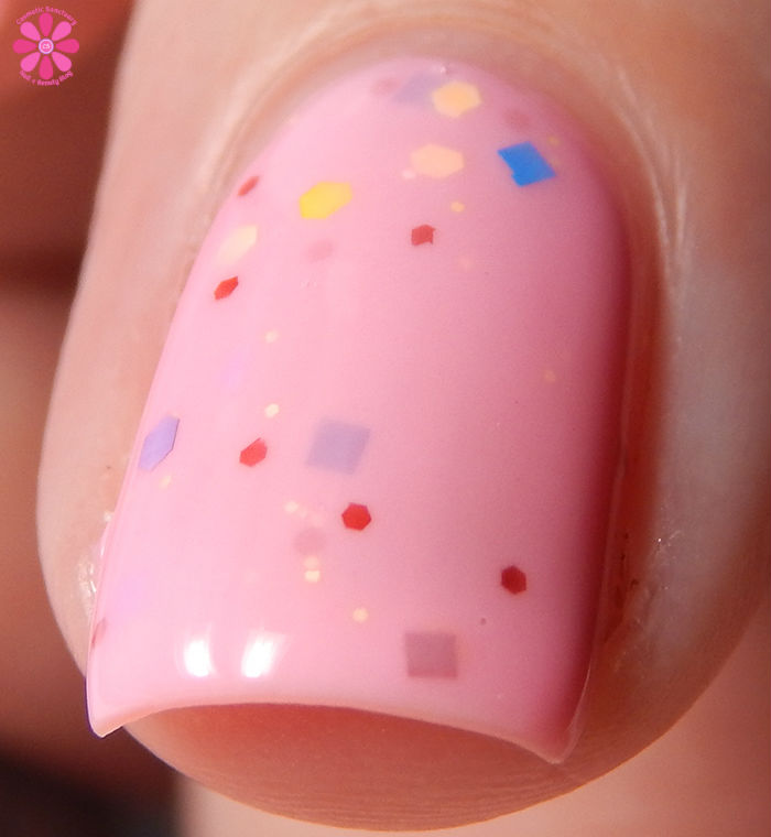 Candied Apple Polish Tickled Pink Front