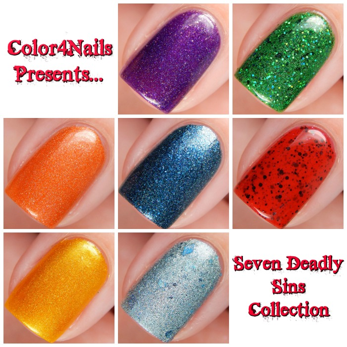 Color4Nails Seven Deadly Sins Collaboration Main