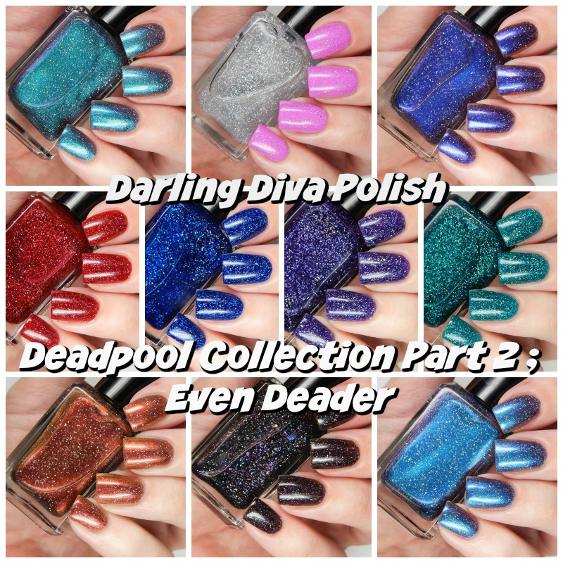 Darling Diva Polish Deadpool 2 Collection Main Title