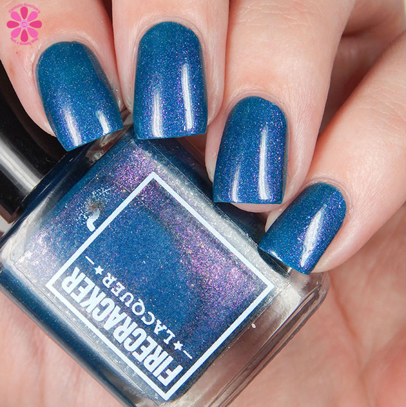 Firecracker Lacquer Teal The End Of Time Down