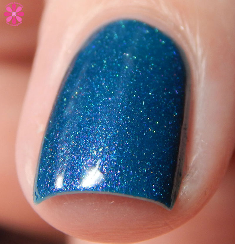 Firecracker Lacquer Teal The End Of Time Front