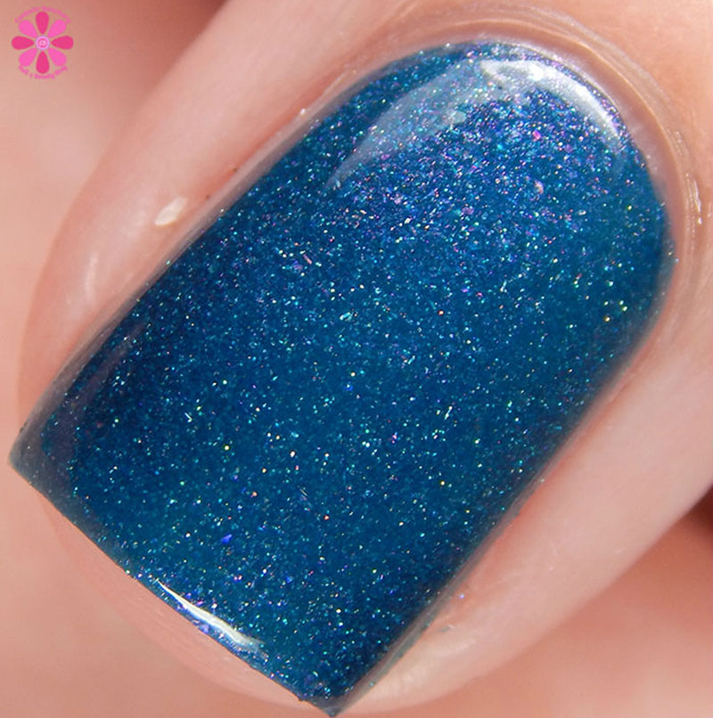Firecracker Lacquer Teal The End Of Time Macro