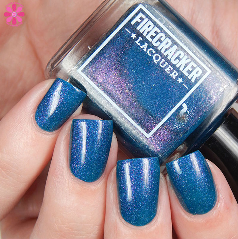 Firecracker Lacquer Teal The End Of Time Up