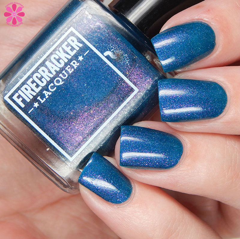 Firecracker Lacquer Teal The End Of Time