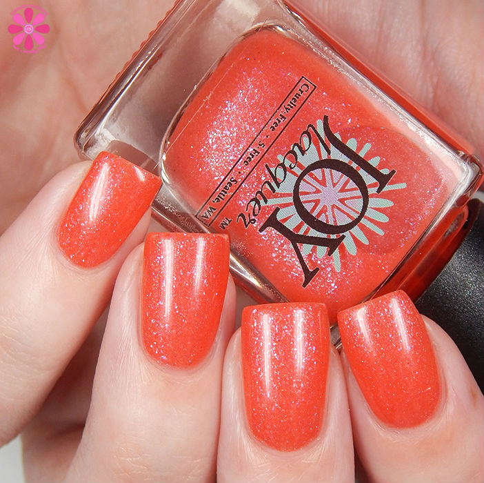 Joy Lacquer Coral Fixation Up