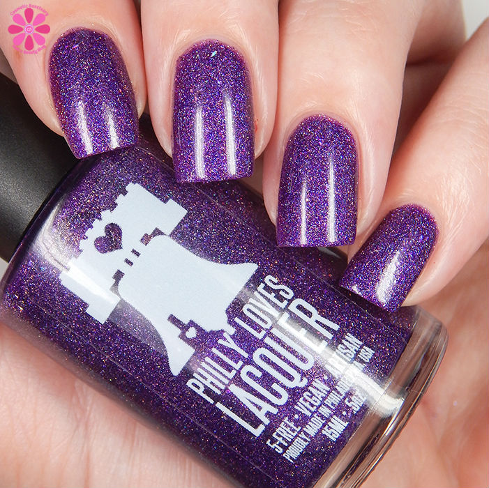 Philly Loves Lacquer Shy Violet Down