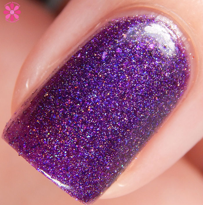 Philly Loves Lacquer Shy Violet Macro