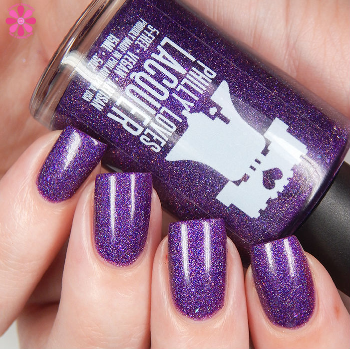 Philly Loves Lacquer Shy Violet Up