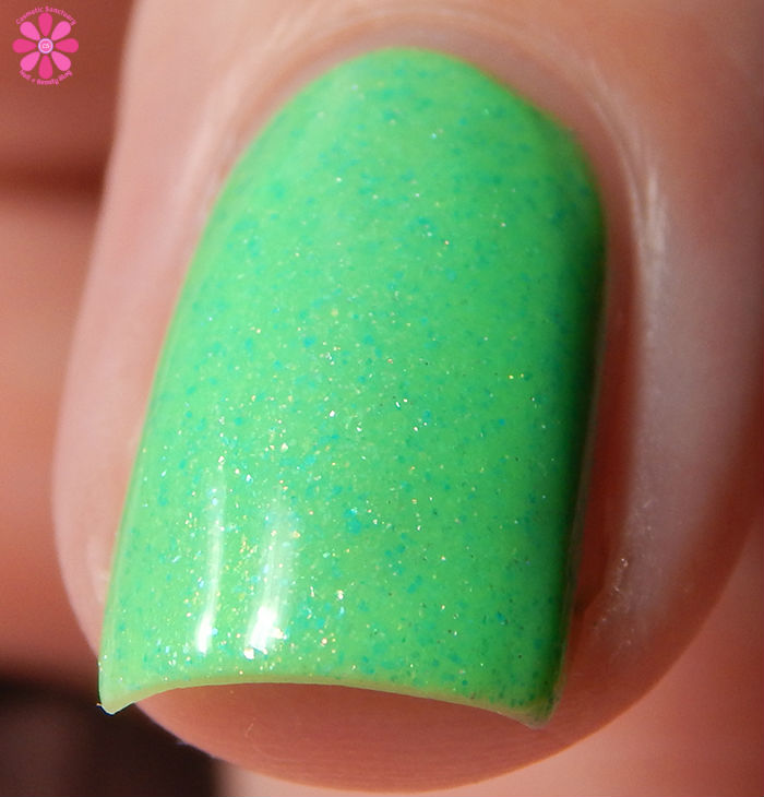 Poetry Cowgirl Nail Polish Patty O'Green Front