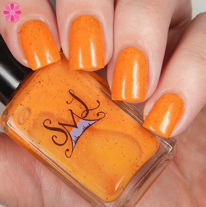 Smokey Mountain Lacquer Lala Orange Down