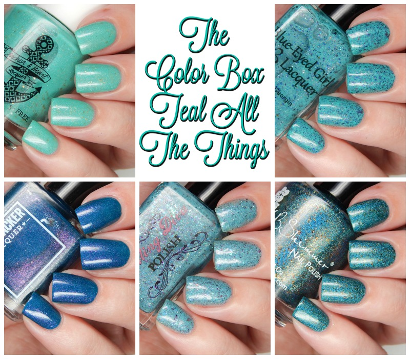 The Color Box Teal All The Things Main