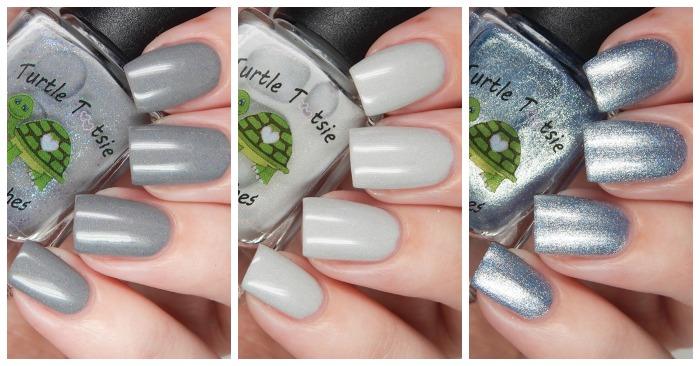 Turtle Tootsie Polishes Trio for Crystal's Charity Lacquers