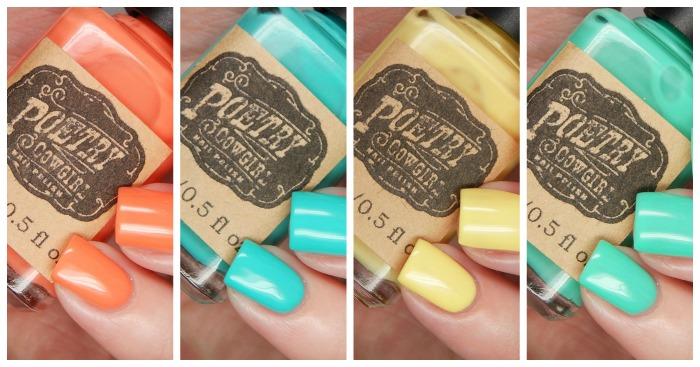 Poetry Cowgirl Nail Polish Vintage Cremes Collection