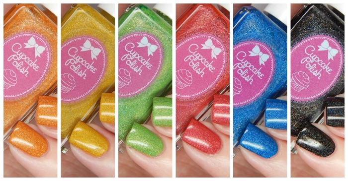 Cupcake Polish Summer 2016 The Olympics Collection