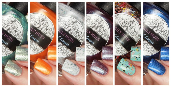 Daily Hues Nail Lacquer Summer In Seattle Collection Part 2