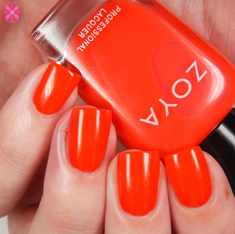 Zoya Summer 2016 Neon Ultra Brites Collection Swatches and Review