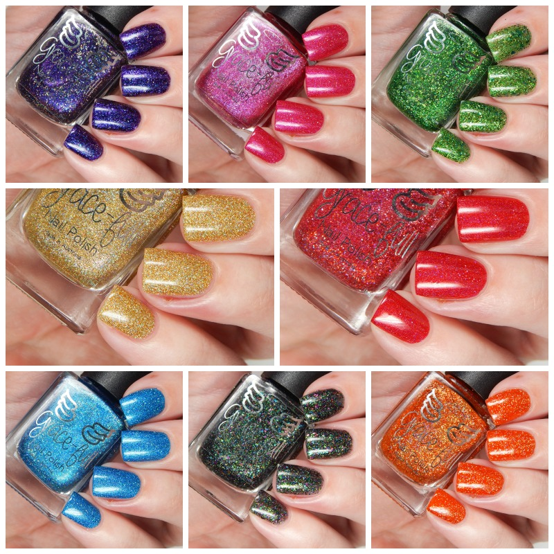 Gracefull Nail POlish SUmmer Sparklers Collection Overview