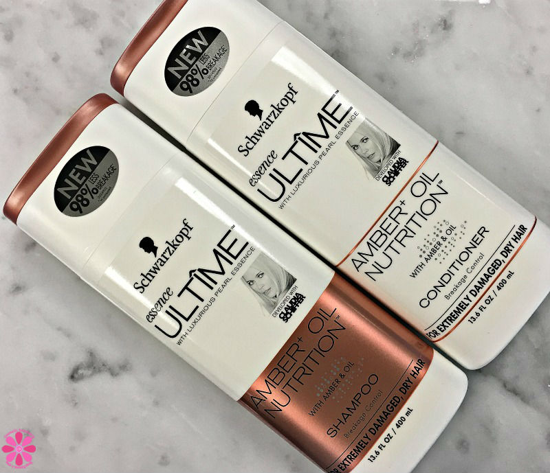 Schwarzkopf Essence Ultime Amber + Oil Shampoo & Conditioner