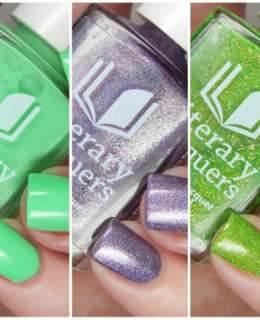 Literary Lacquers Cover