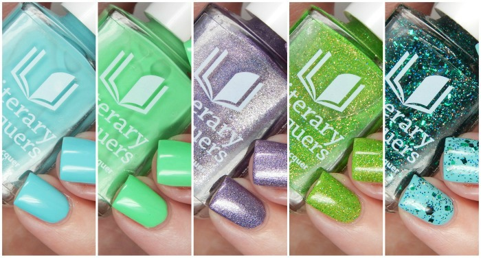 Literary Lacquers Othello Duo, Lovers Duo & Long May She Reign