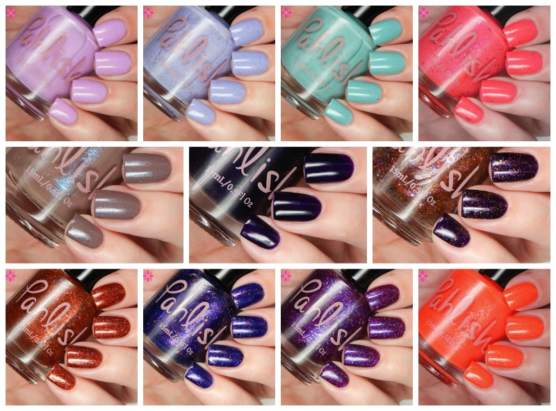 Pahlish Hothouse Flowers Collection, July Duo & Charity Polish