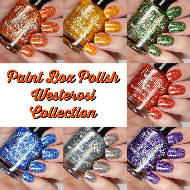 Paint Box Polish Westerosi Collection