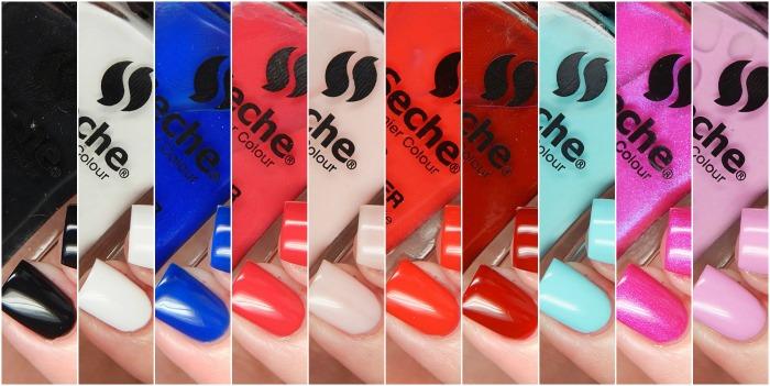 Seche Premier Colour Nail Lacquers