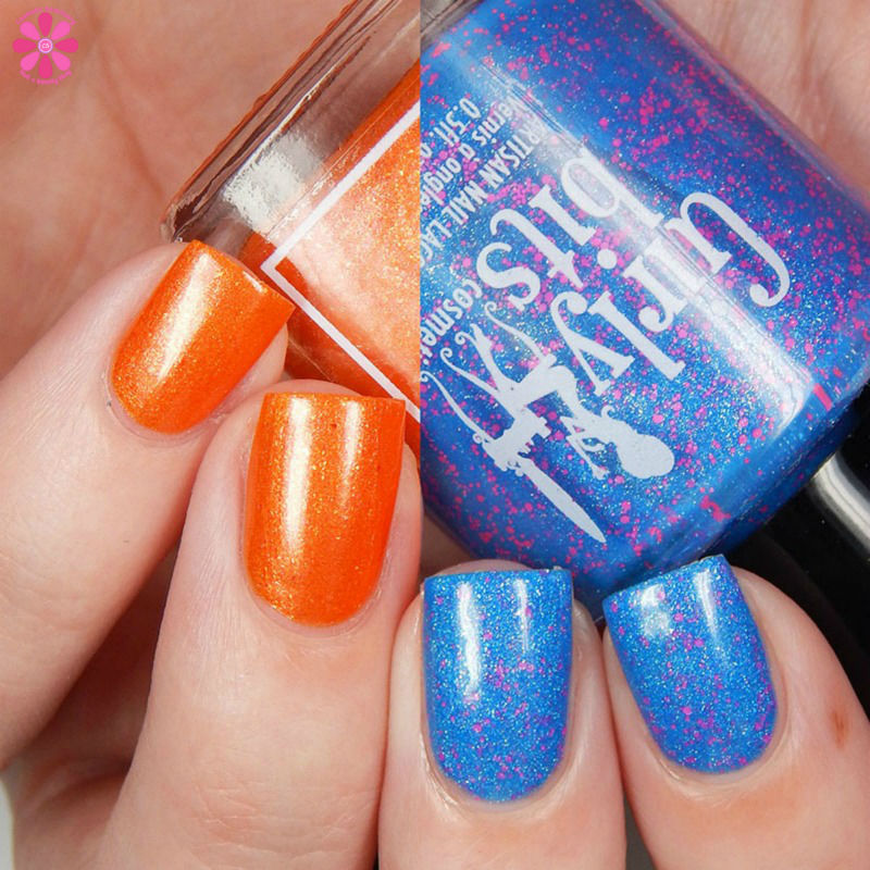 Girly Bits & Firecracker Lacquer Drinks On The Beach Duo