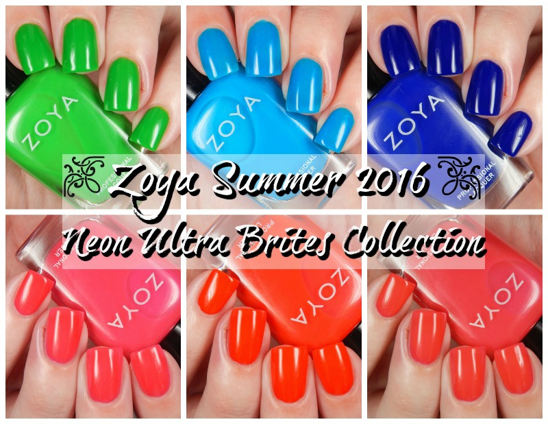 Zoya Neon Ultra Brites Collection