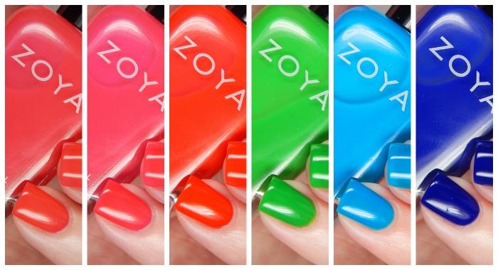 Zoya Summer 2016 Neon Ultra Brites Collection