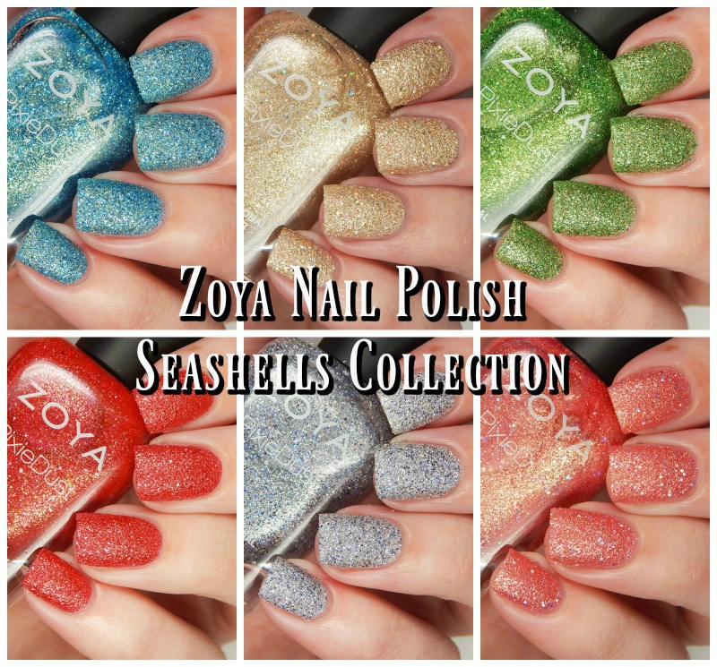 Zoya Summer 2016 Seashells Collection Main