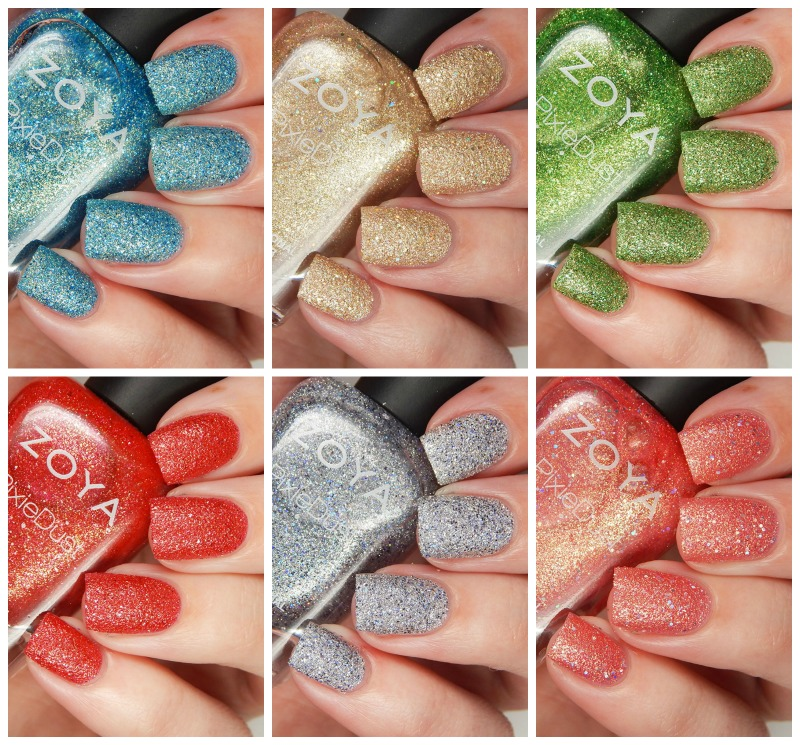 Zoya Summer 2016 Seashells Collection Overview