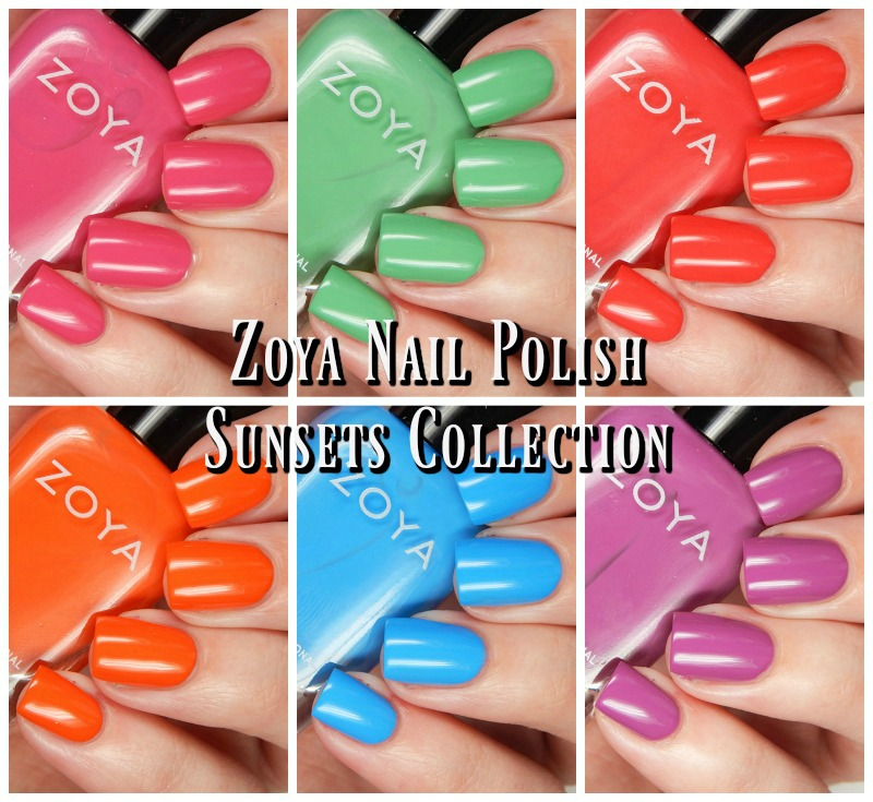 Zoya Summer 2016 Sunsets Collection Main