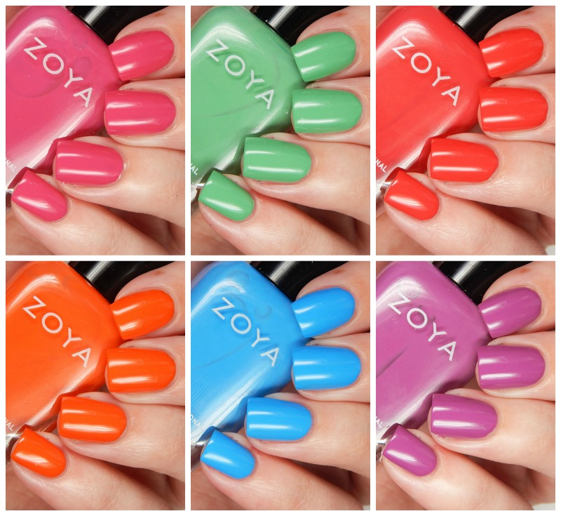 Zoya Summer 2016 Sunsets Collection Overview