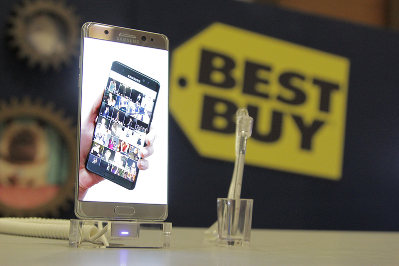 Experience Samsung Galaxy Note7 At Best Buy