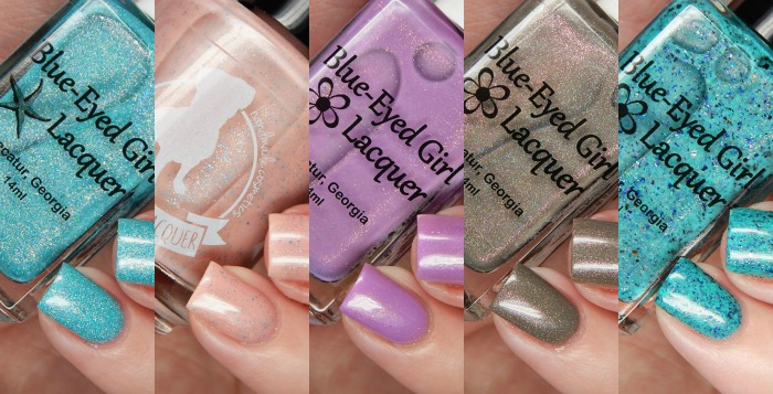 Blue Eyed Girl Lacquer August 2016 Releases & Destination Duo