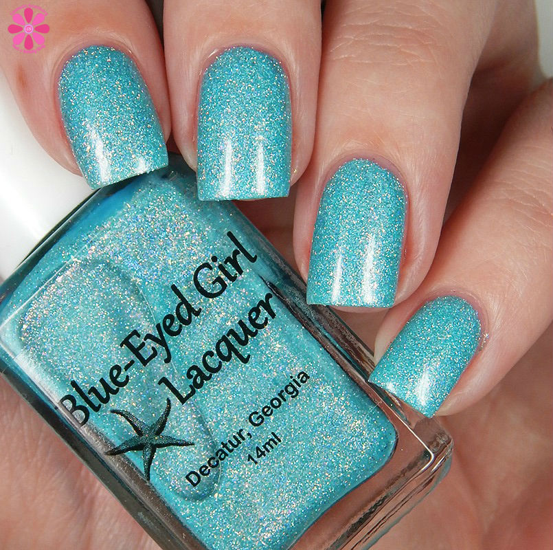 Blue Eyed Girl Lacquer Siren's Curtain Call Down
