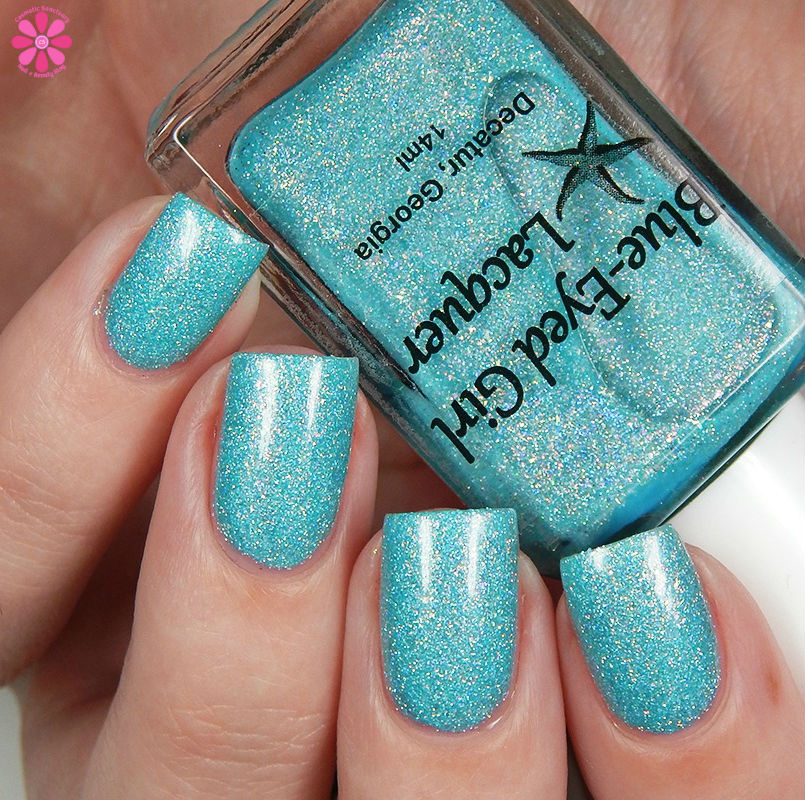 Blue Eyed Girl Lacquer Siren's Curtain Call Up