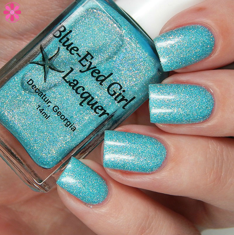 Blue Eyed Girl Lacquer Siren's Curtain Call