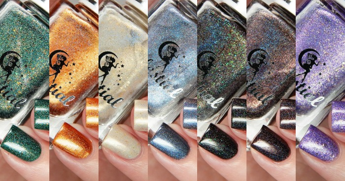 Celestial Cosmetics We Breathe Fire Collection