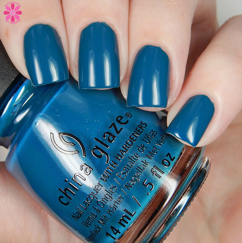 China GLaze Fall 2016  Jagged LIttle Teal Down