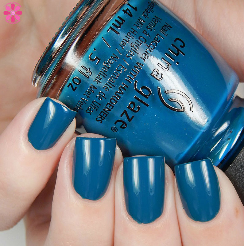 China GLaze Fall 2016  Jagged LIttle Teal Up
