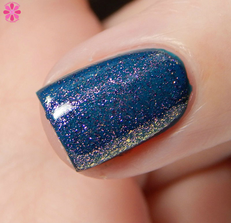China Glaze Fall 2016 Don't Mesh With Me Over Jagged Little Teal