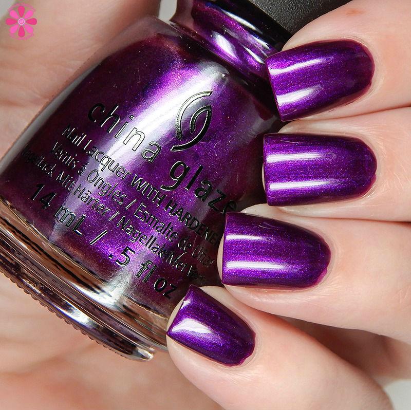 China Glaze Fall 2016 Purple Fiction