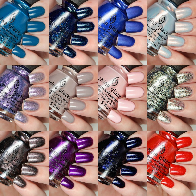China Glaze Fall 2016 Rebel Collection Overview
