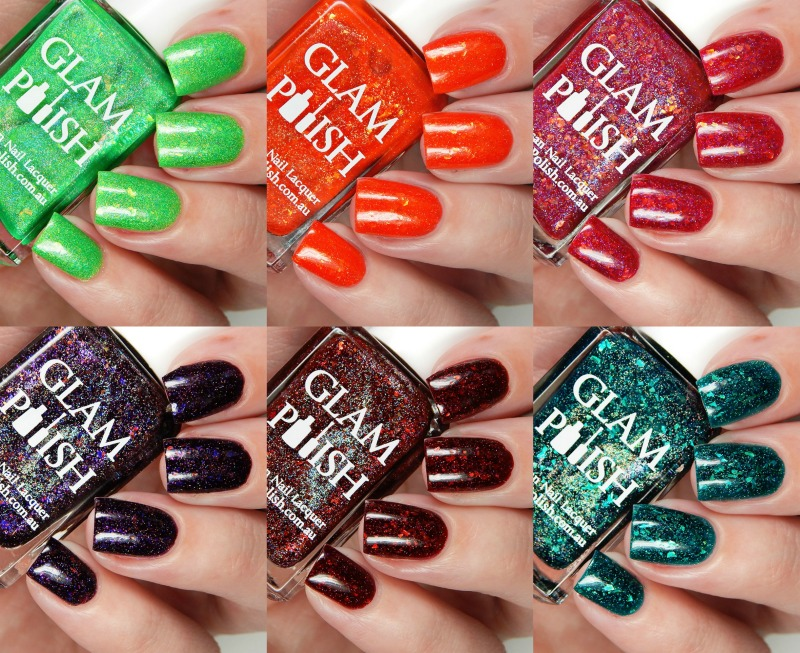 Glam Polish It's Gonna Be A Scream Collection